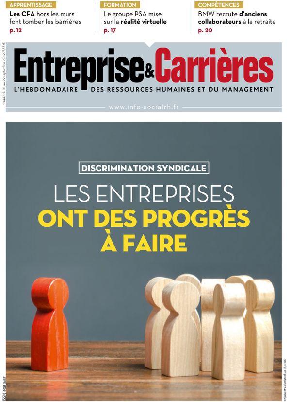 Couverture magazine Entreprise et carrières n° 1447