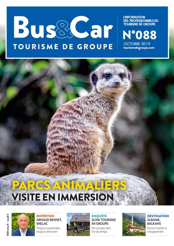 Bus et Car : Tourisme de Groupe n° 88 de octobre 2019