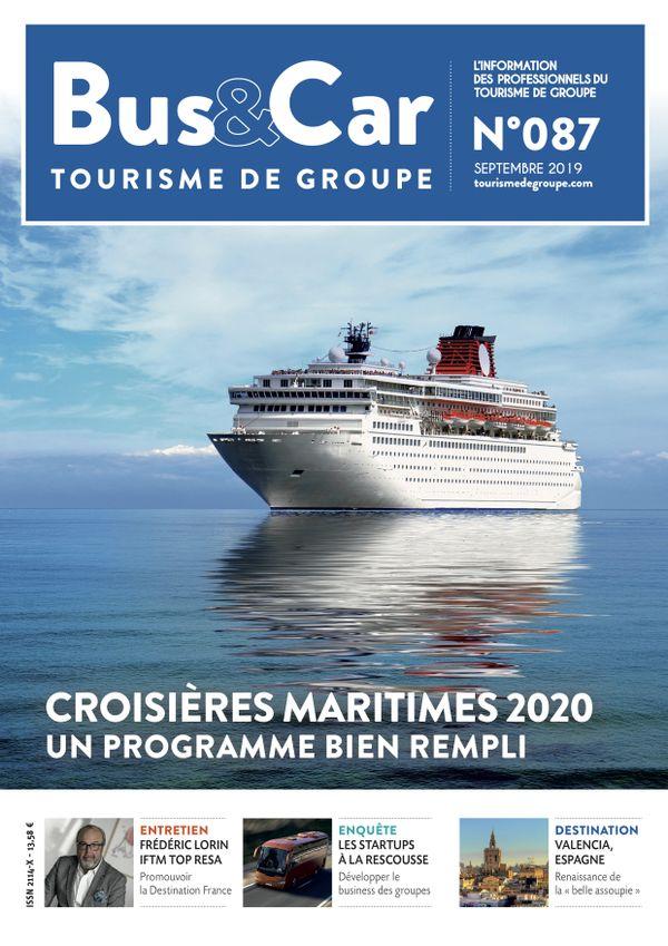 Bus et Car : Tourisme de Groupe n° 87 de septembre 2019