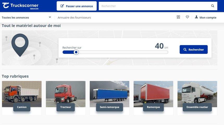 Avec Truckscorner La Filiale Du Bon Coin Se Lance Sur Le