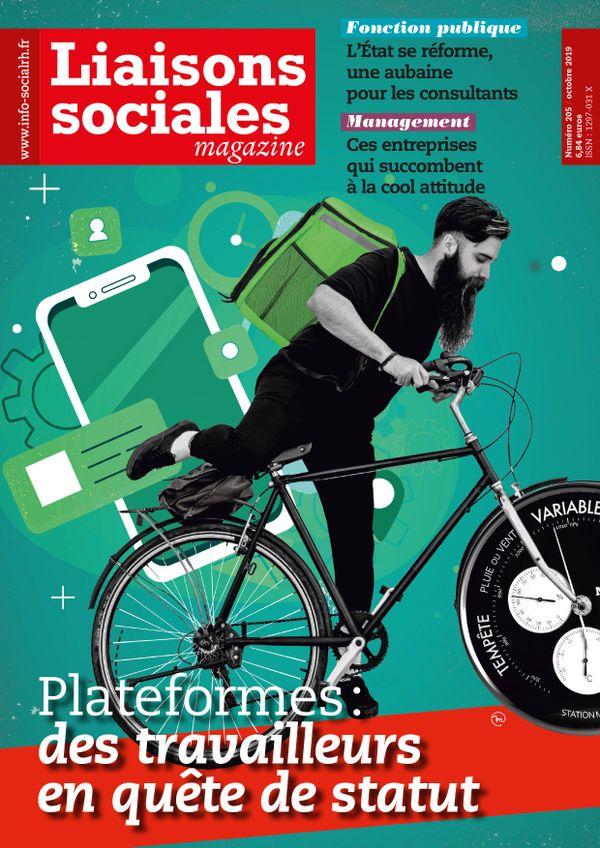 Couverture magazine Liaisons sociales magazine n° 205
