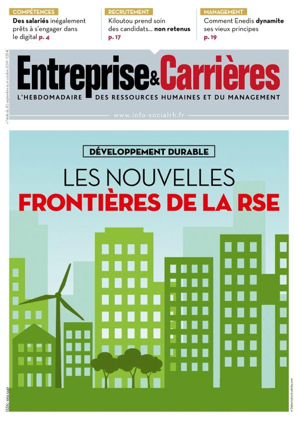 Couverture magazine Entreprise et carrières n° 1448