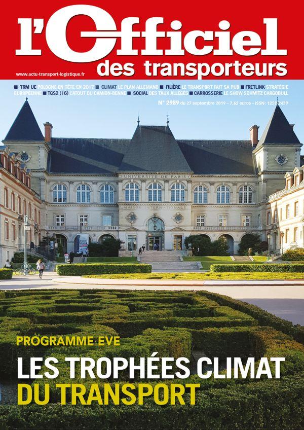 Couverture magazine n° 2989