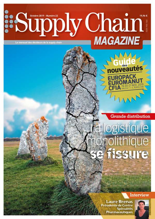 Couverture magazine supply chain magazine n° 22