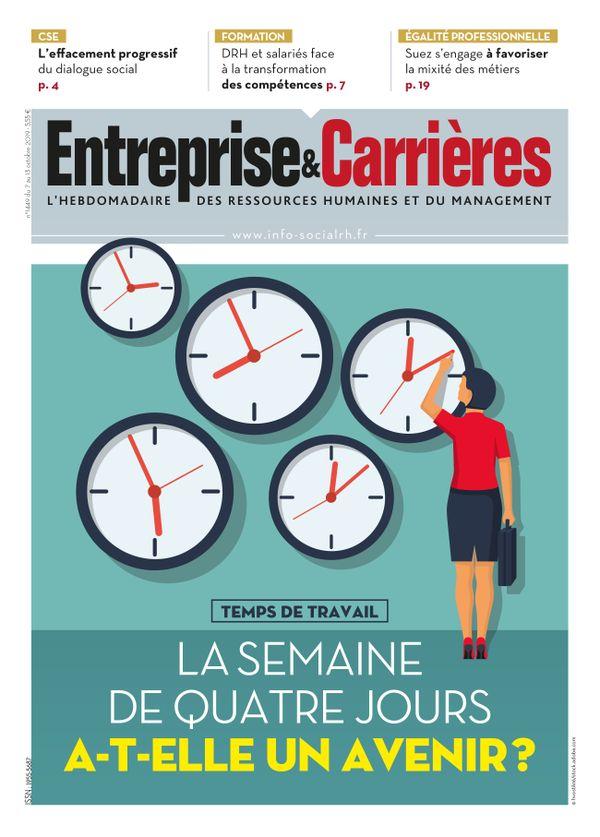 Couverture magazine Entreprise et carrières n° 1449