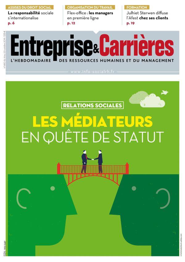 Couverture magazine Entreprise et carrières n° 1450