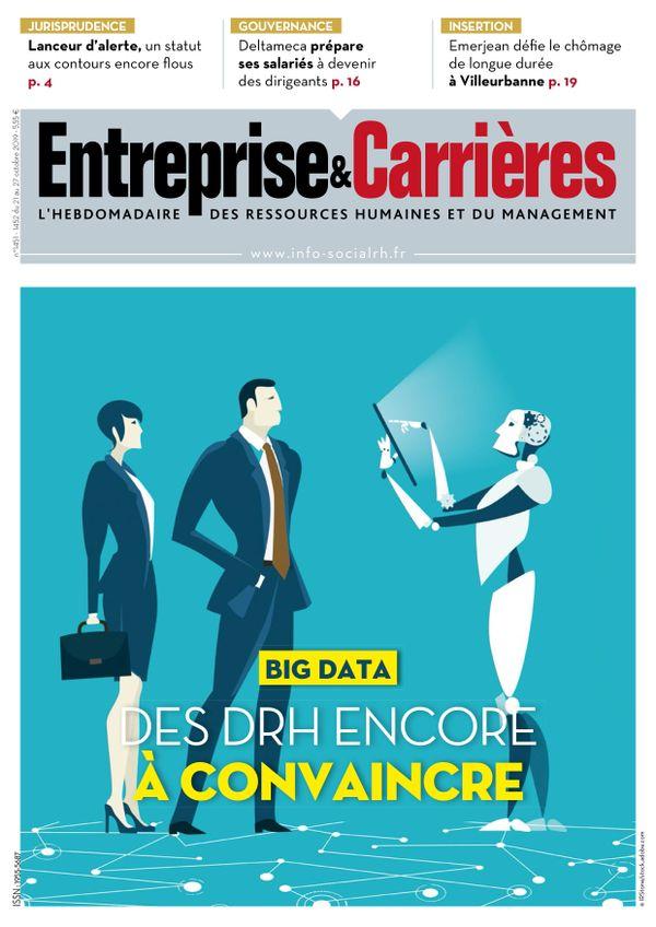 Couverture magazine Entreprise et carrières n° 1451