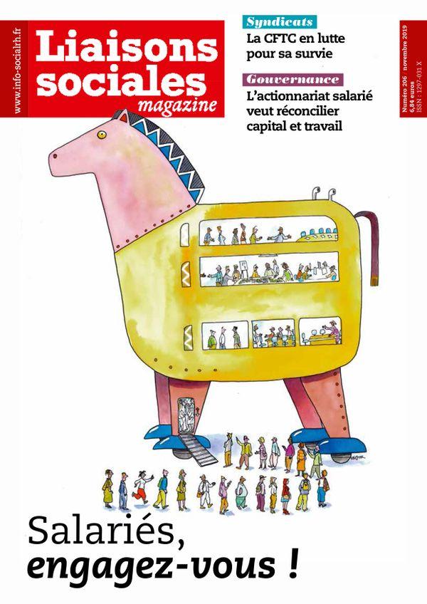 Couverture magazine Liaisons sociales magazine n° 206