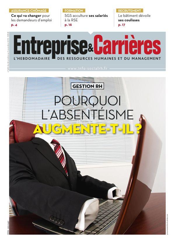 Couverture magazine Entreprise et carrières n° 1453