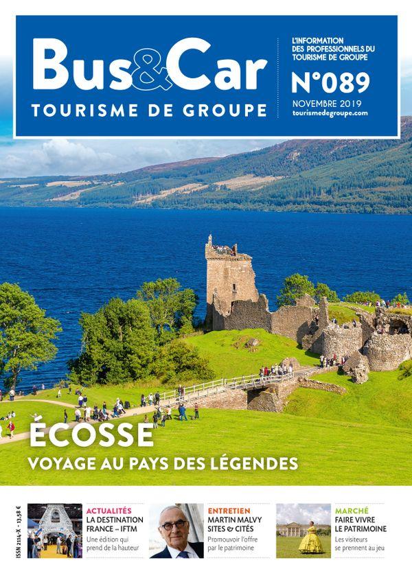 Bus et Car : Tourisme de Groupe n° 89 du 01 novembre 2019