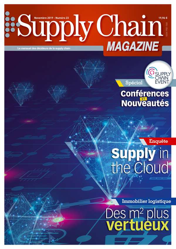 Couverture magazine supply chain magazine n° 23