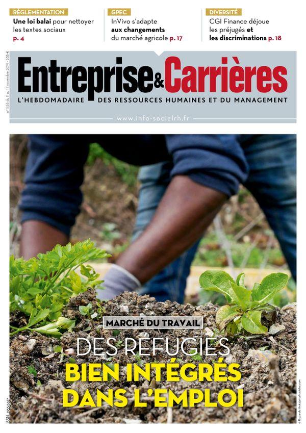 Couverture magazine Entreprise et carrières n° 1455
