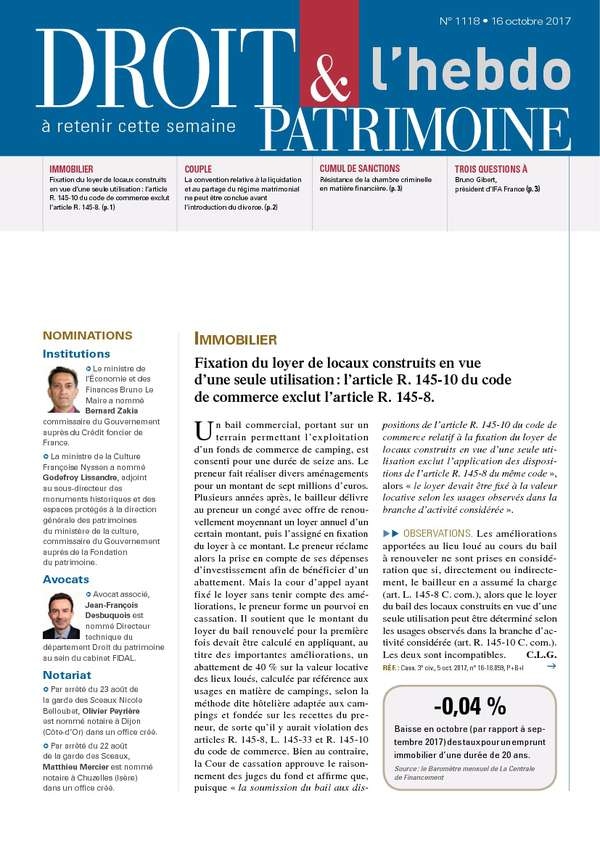 Sommaire n°1118