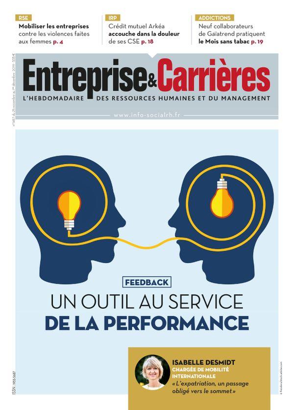 Couverture magazine Entreprise et carrières n° 1457