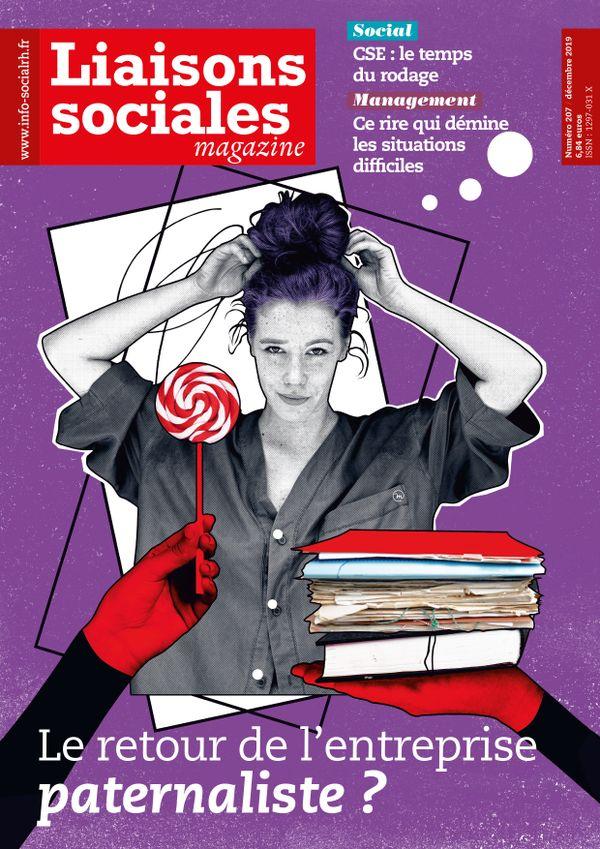 Couverture magazine Liaisons sociales magazine n° 207