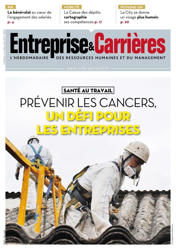 Couverture magazine Entreprise et carrières n° 1458