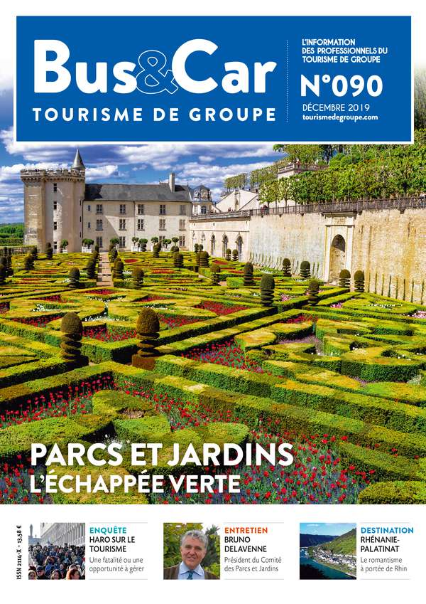 Bus et Car : Tourisme de Groupe n° 90 de décembre 2019