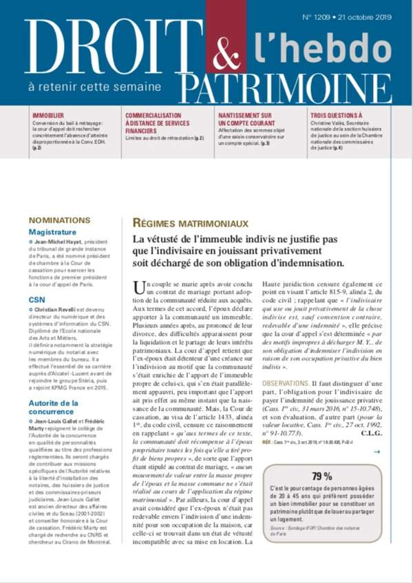 Sommaire n°1209