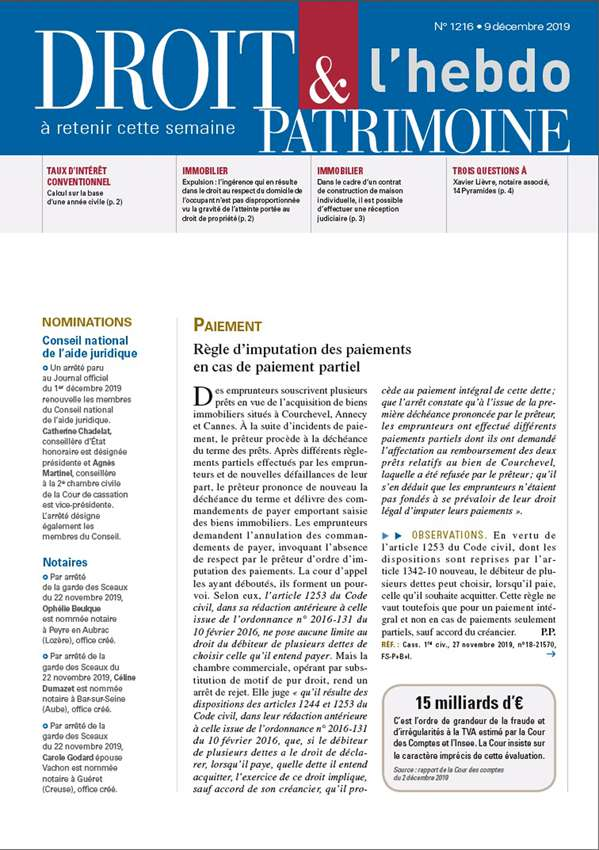 Sommaire n°1216