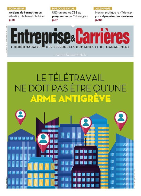 Couverture magazine Entreprise et carrières n° 1459