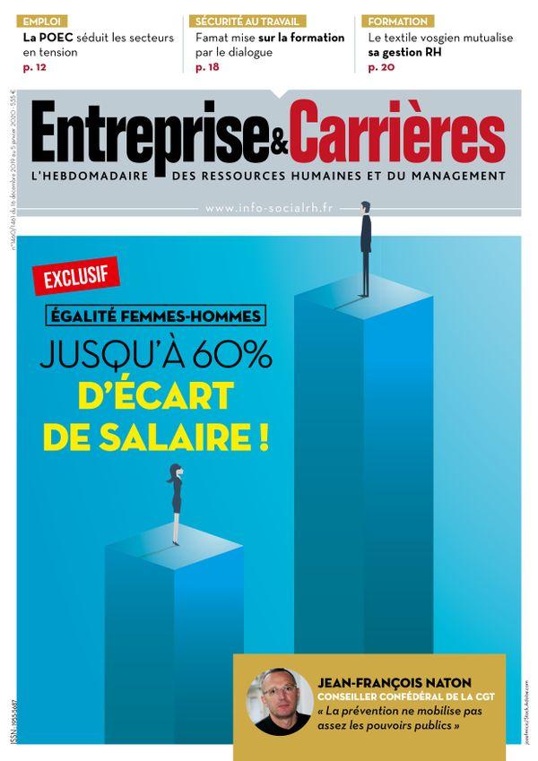 Couverture magazine Entreprise et carrières n° 1460