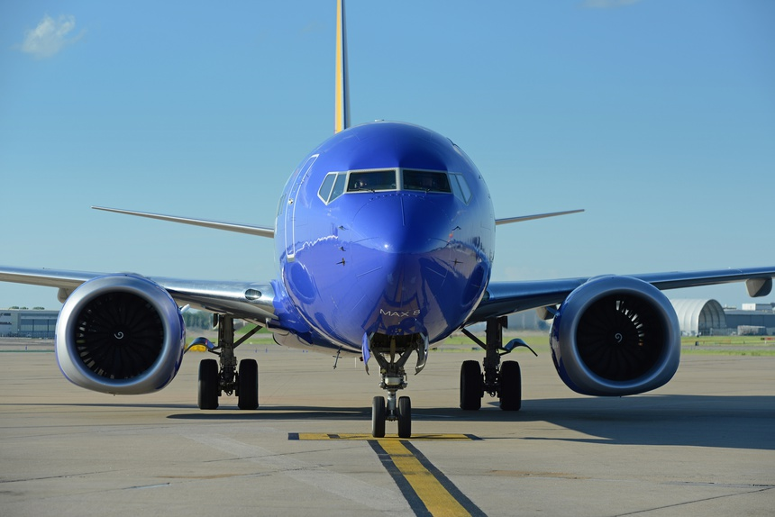 Southwest Airlines Boeing 737-800 Max