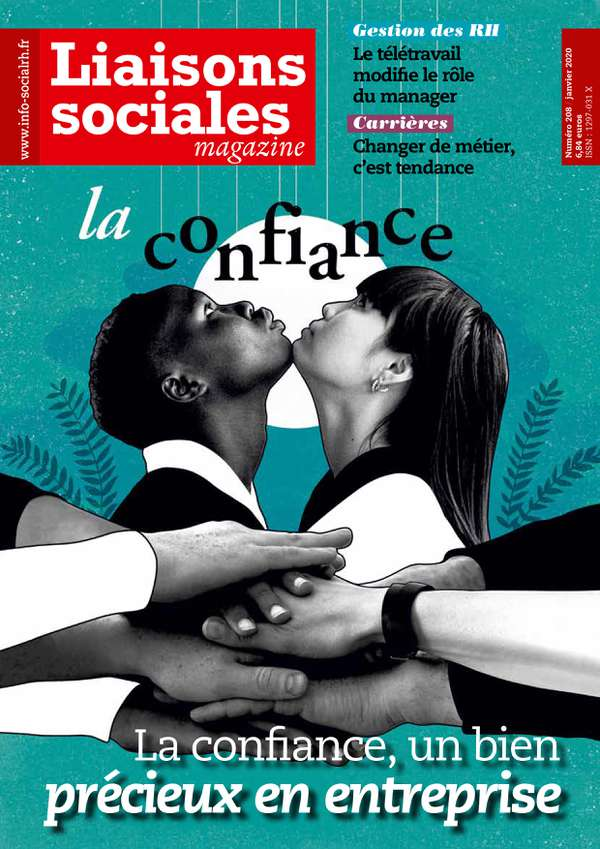 Couverture magazine n° 208