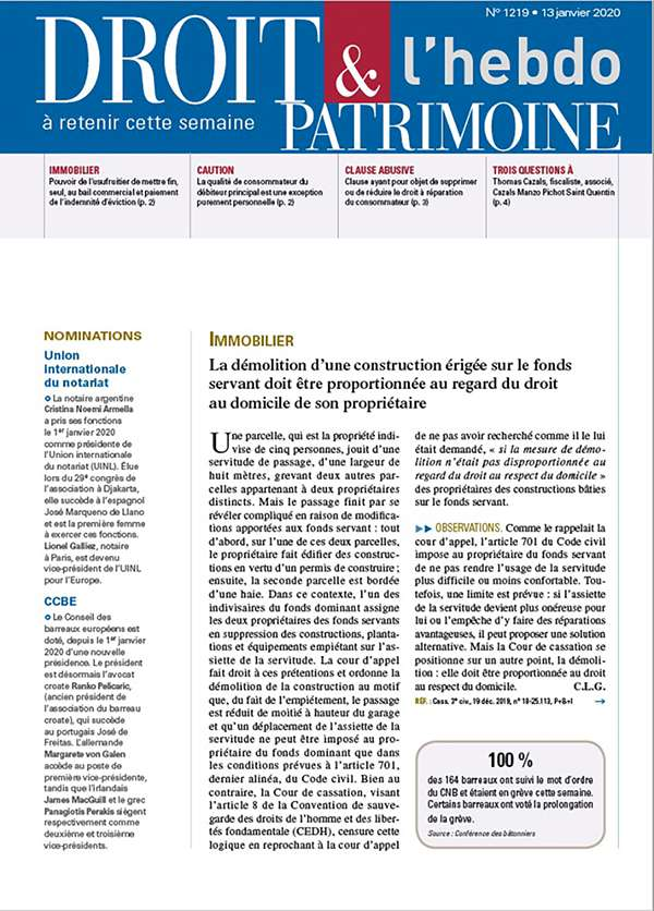 Sommaire n°1219