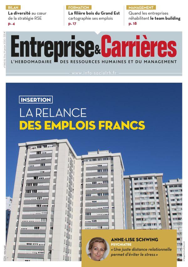 Couverture magazine Entreprise et carrières n° 1463