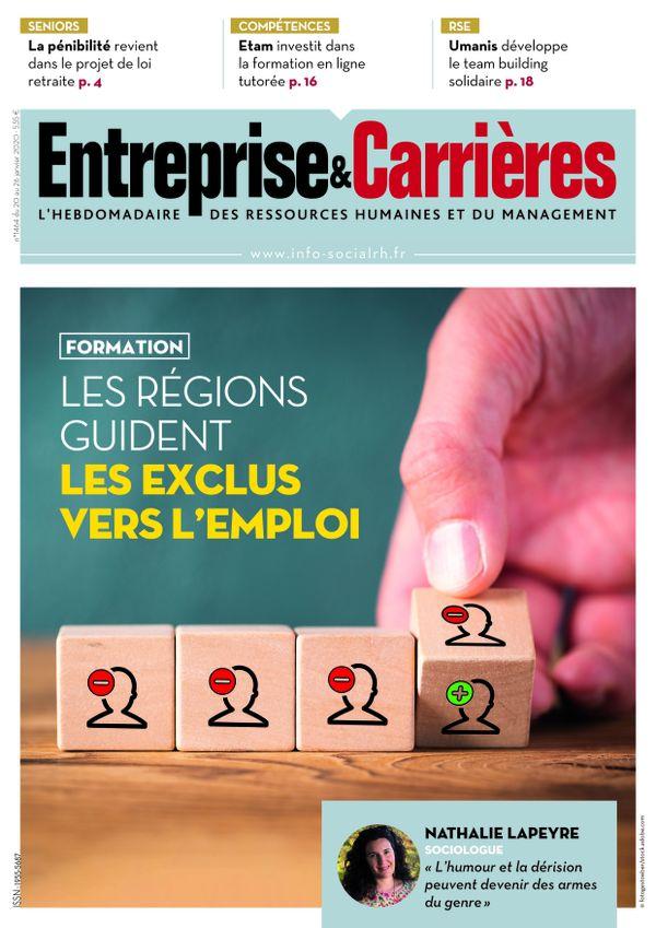 Couverture magazine Entreprise et carrières n° 1464