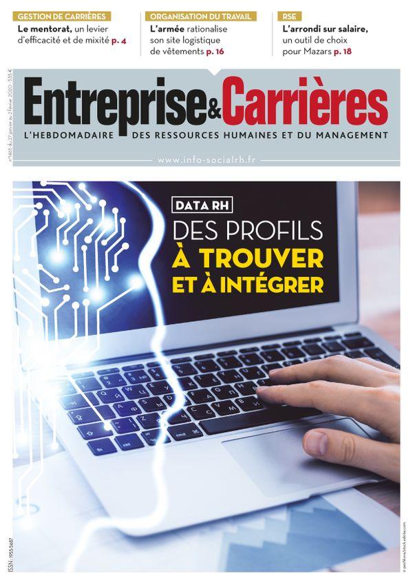 Couverture magazine Entreprise et carrières n° 1465