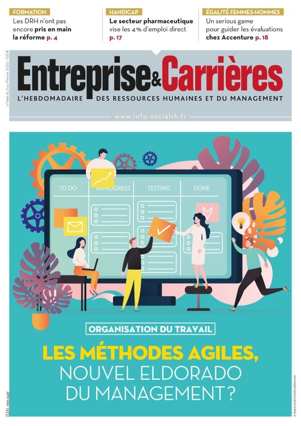 Couverture magazine Entreprise et carrières n° 1466