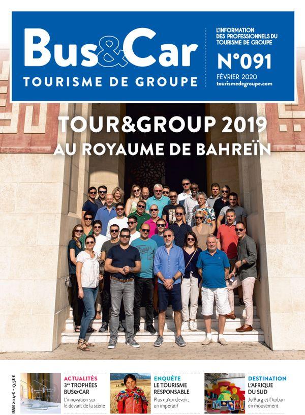 Bus et Car : Tourisme de Groupe n° 91 de février 2020