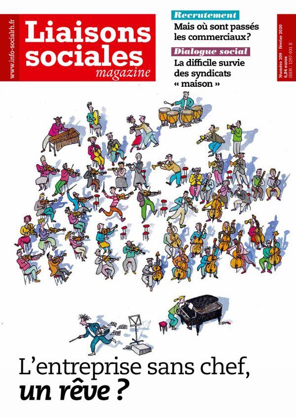 Couverture magazine Liaisons sociales magazine n° 209