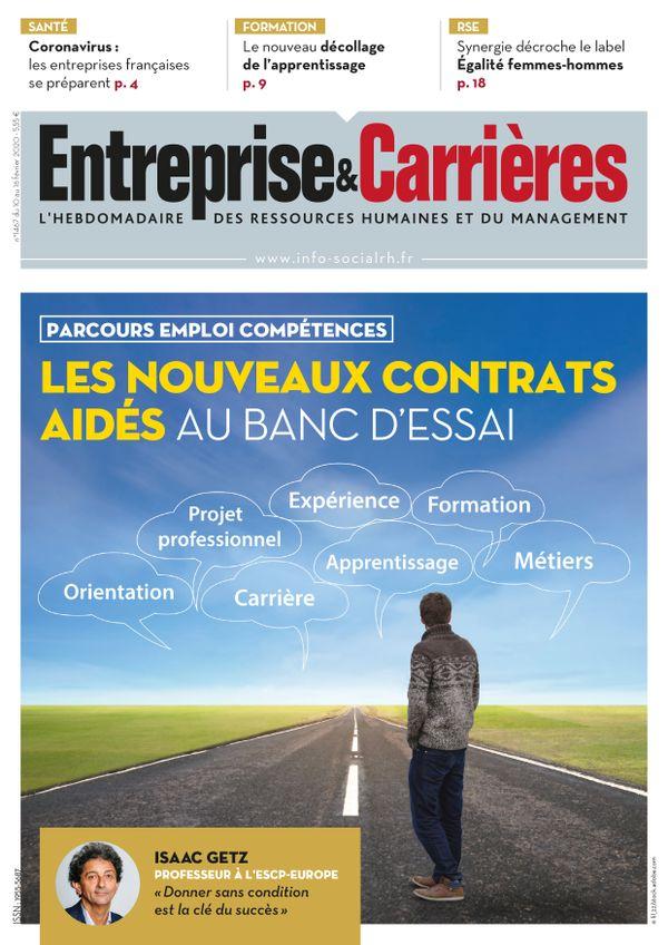 Couverture magazine Entreprise et carrières n° 1467