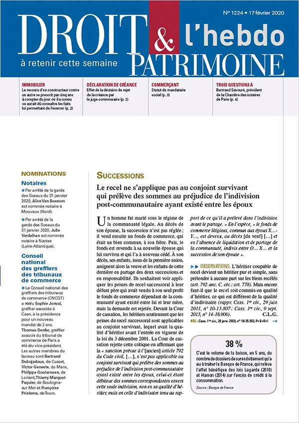 Sommaire n°1224