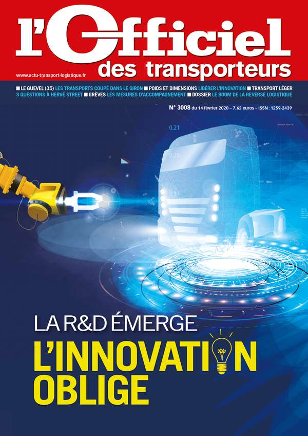 Illustration l'Officiel des Transporteurs