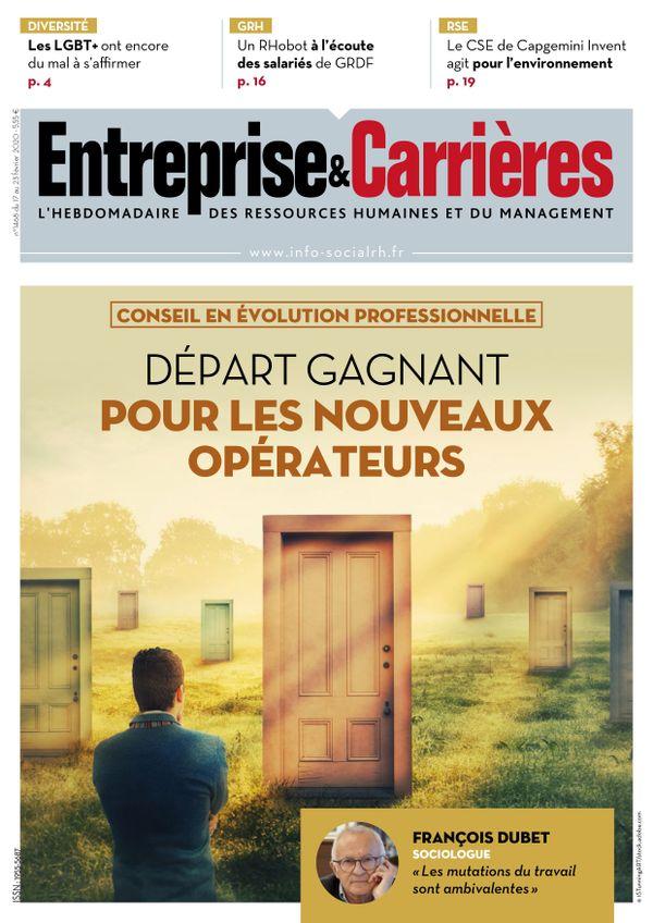 Couverture magazine Entreprise et carrières n° 1468