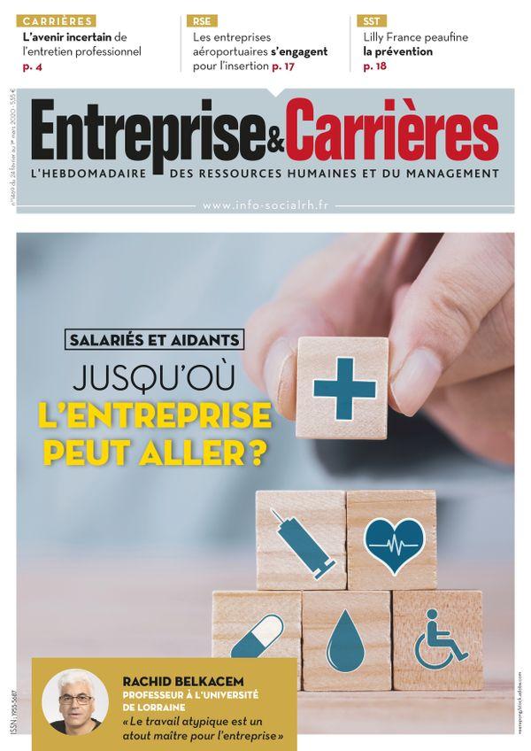 Couverture magazine Entreprise et carrières n° 1469