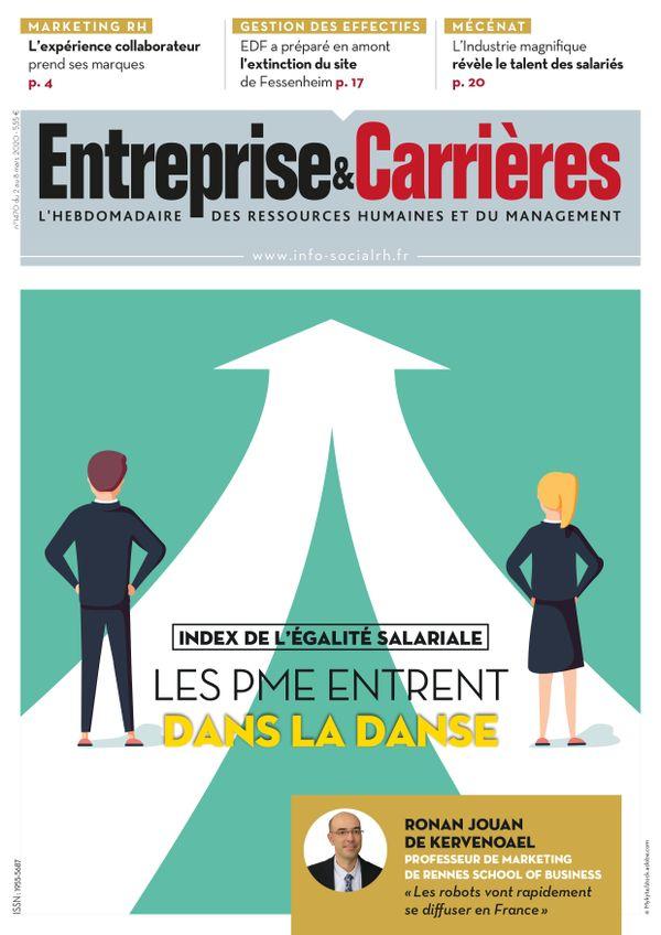 Couverture magazine Entreprise et carrières n° 1470