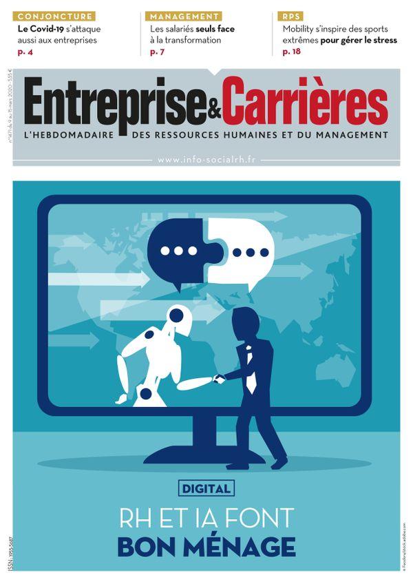 Couverture magazine Entreprise et carrières n° 1471