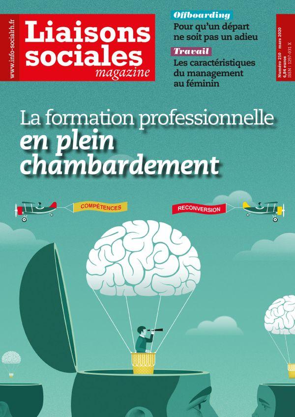 Couverture magazine Liaisons sociales magazine n° 210