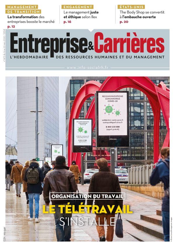 Couverture magazine Entreprise et carrières n° 1472