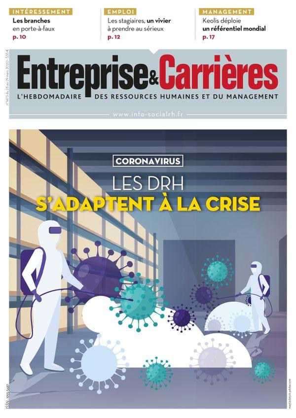 Couverture magazine Entreprise et carrières n° 1473