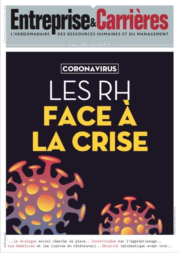 Couverture magazine Entreprise et carrières n° 1474