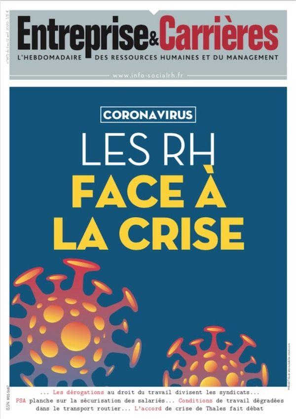 Couverture magazine Entreprise et carrières n° 1475