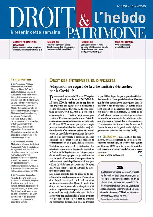 Sommaire n°1232