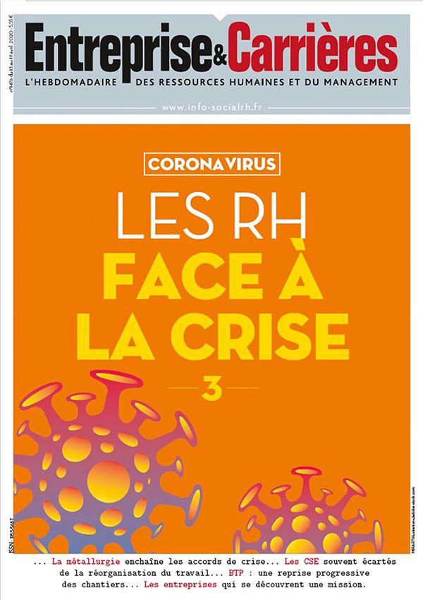 Couverture magazine Entreprise et carrières n° 1476