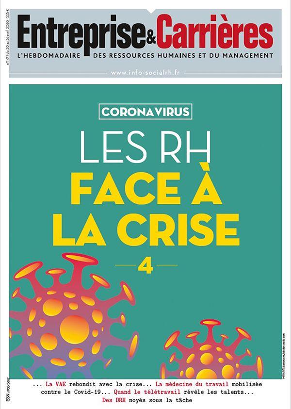 Couverture magazine Entreprise et carrières n° 1477