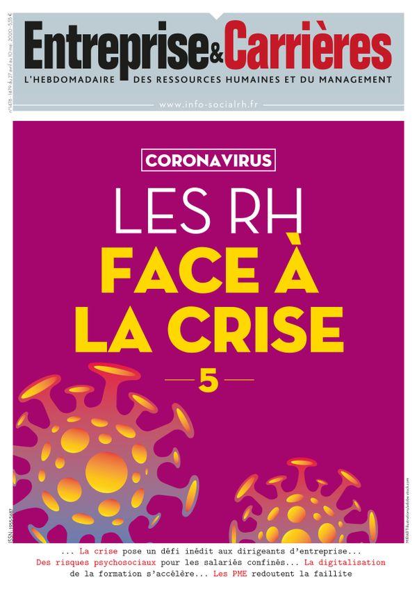 Couverture magazine Entreprise et carrières n° 1478